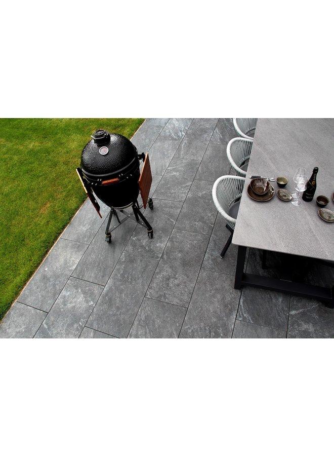 Ceramica Lastra Brave Grey 45x90x2 cm (prijs per tegel)