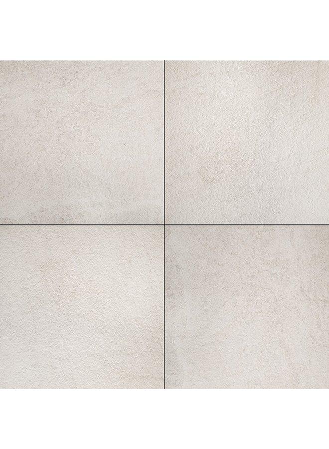Ceramica Lastra Block Bianco 60x60x2 cm (prijs per tegel)