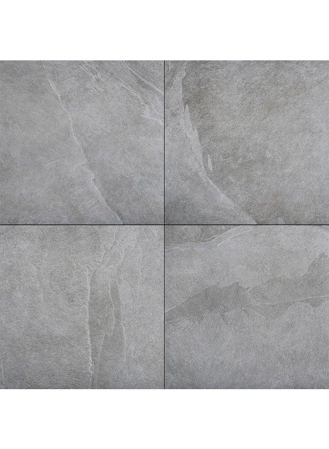 Ceramica Romagna Ardesia Grey 60x60x2 cm (prijs per tegel)