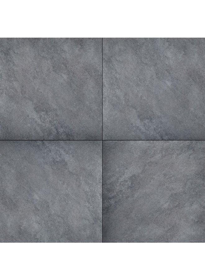 Ceramica Terrazza Limestone Anthracite 59,5x59,5x2 cm