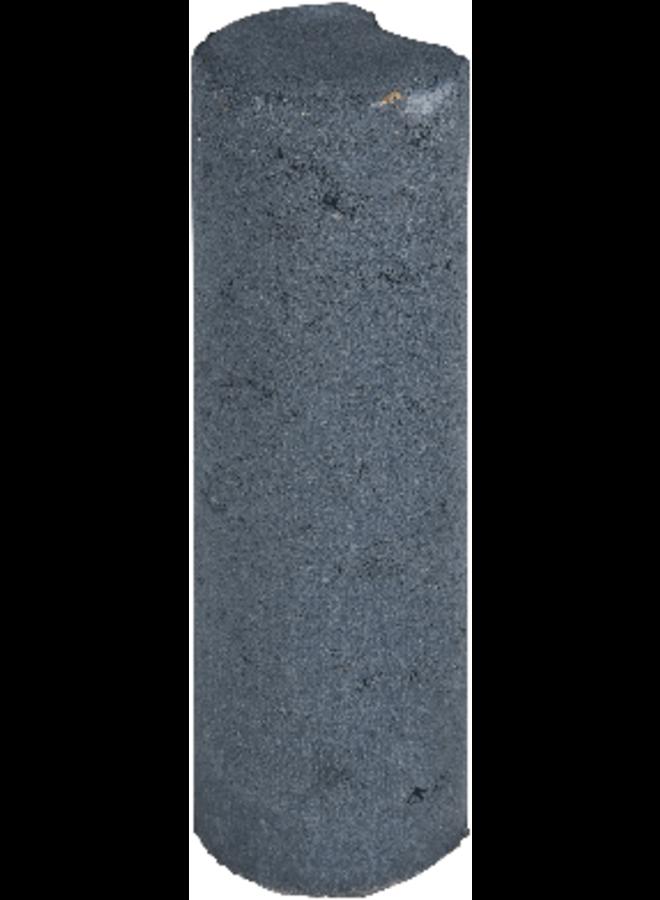 Palissaden Zwart Ø8x25 cm
