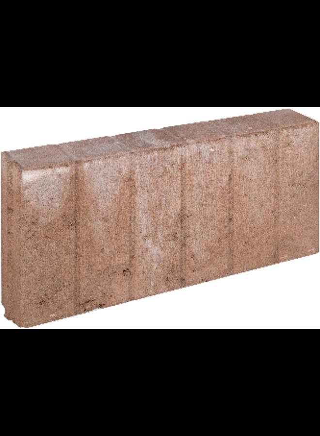 Blokjesband Bruin 8x25x50 cm