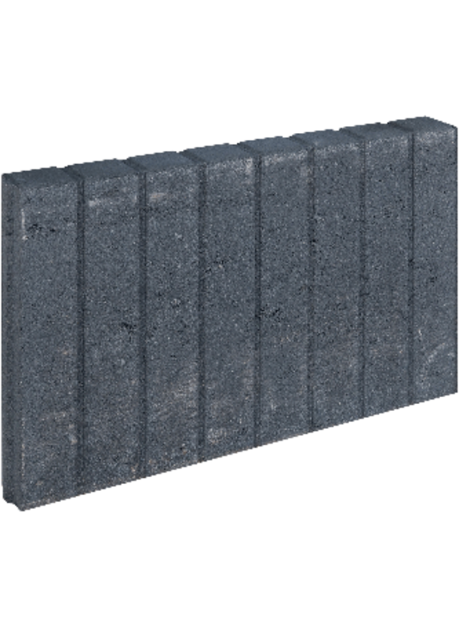 Blokjesband Zwart 6x35x50 cm