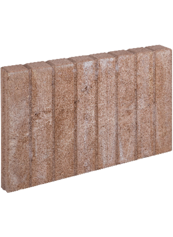 Blokjesband Bruin 6x35x50 cm