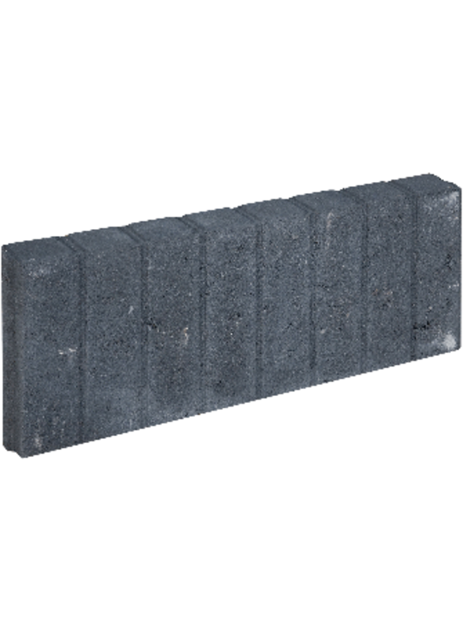 Blokjesband Zwart 6x20x50 cm