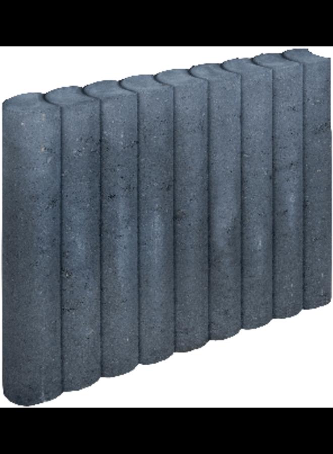 Rondo Palissadeband Zwart 8x50x50 cm