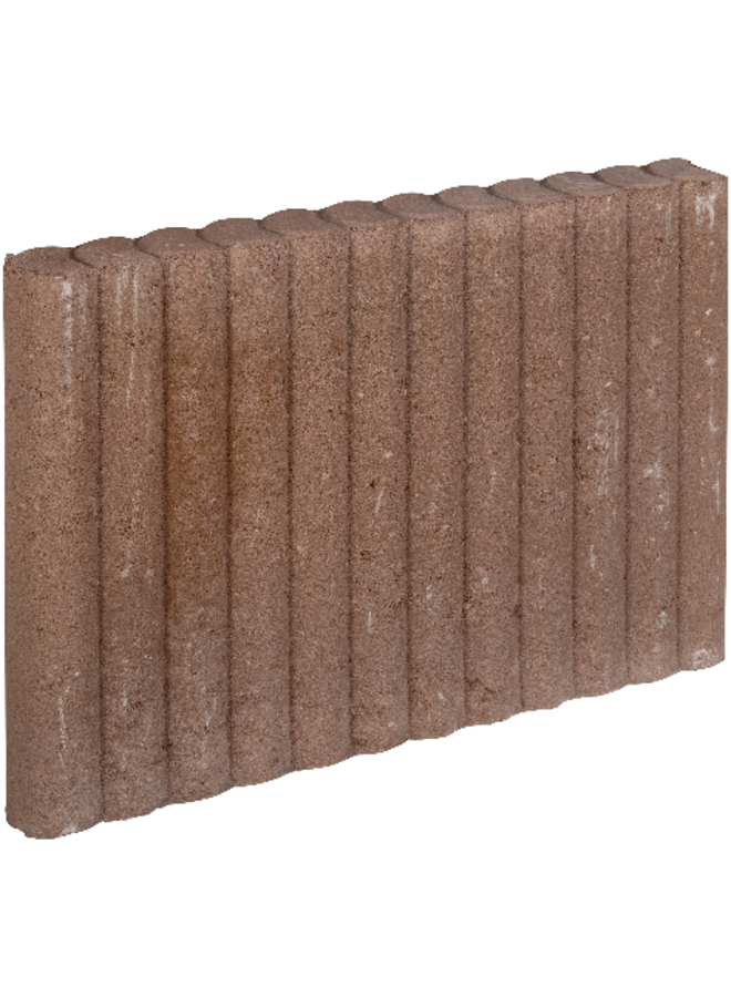 Mini Palissadeband Bruin 6x40x50 cm