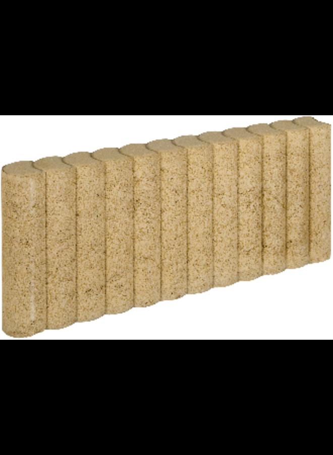 Mini Palissadeband Geel 6x25x50 cm