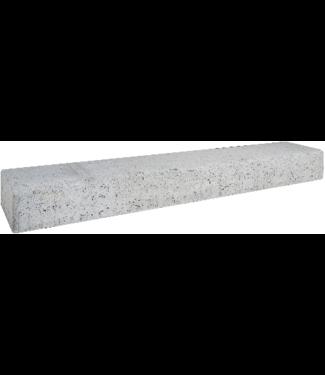 Gardenlux Retro Betonbiels Grijs 12x20x120 cm