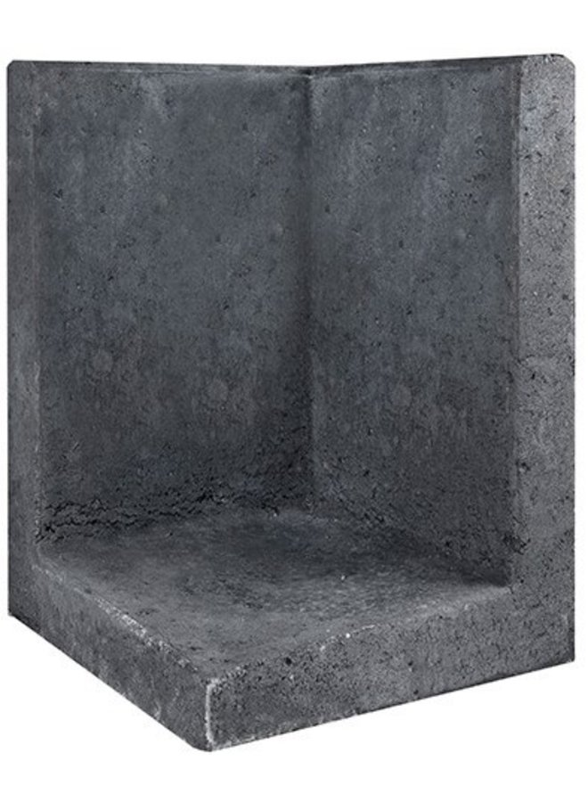 L-Element Hoek Zwart 40x40x60 cm