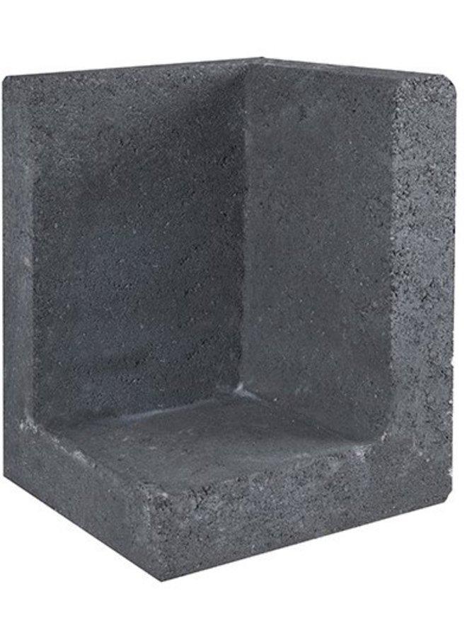 L-Element Hoek Zwart 30x30x40 cm