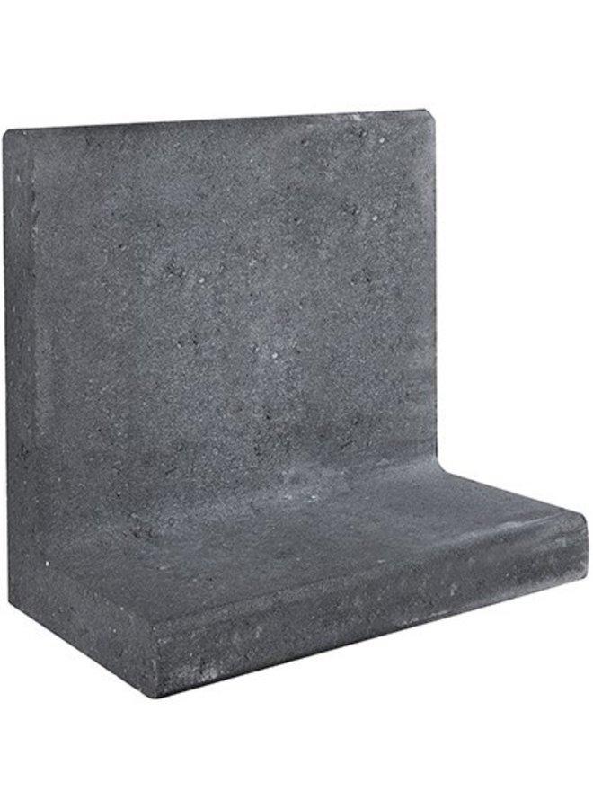 L-Element Zwart 50x30x50 cm