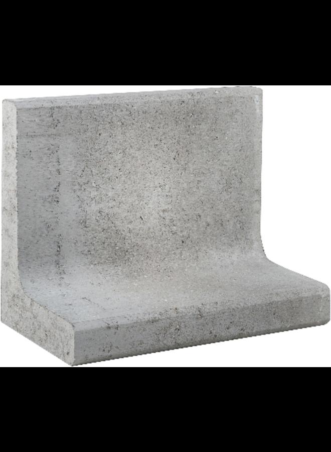 L-Element Grijs 50x30x40 cm