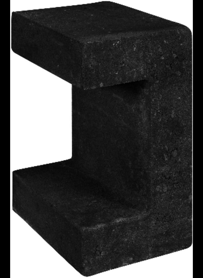 U-Element Zwart 15x20x30 cm
