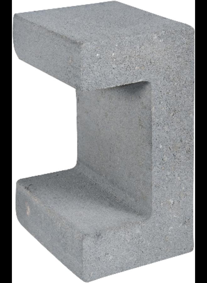 U-Element Grijs 15x20x30 cm