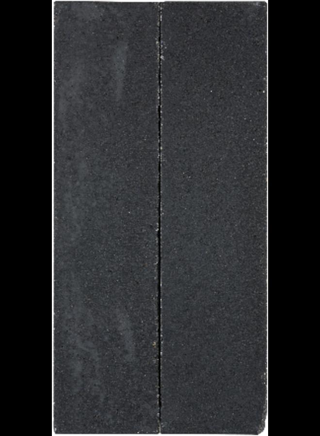Tegula Palissaden 11x14x60 cm Zwart