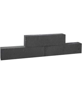 Gardenlux Forto Walling 60x10x10 cm Zwart