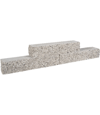 Gardenlux Rockline Walling 60x12,5x12,5 cm Granietgrijs