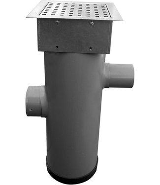 Hydroblob Hydroblob Zandvangput met loofscheider ZVP-MR-VZ 615H Ø20cm,in- en uitlaatØ100mm