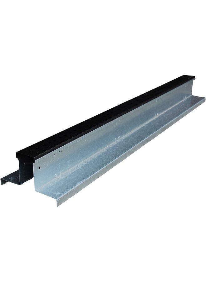 Hydroblob Rooster Slimline grafiet 120x20/6,5x10 cm