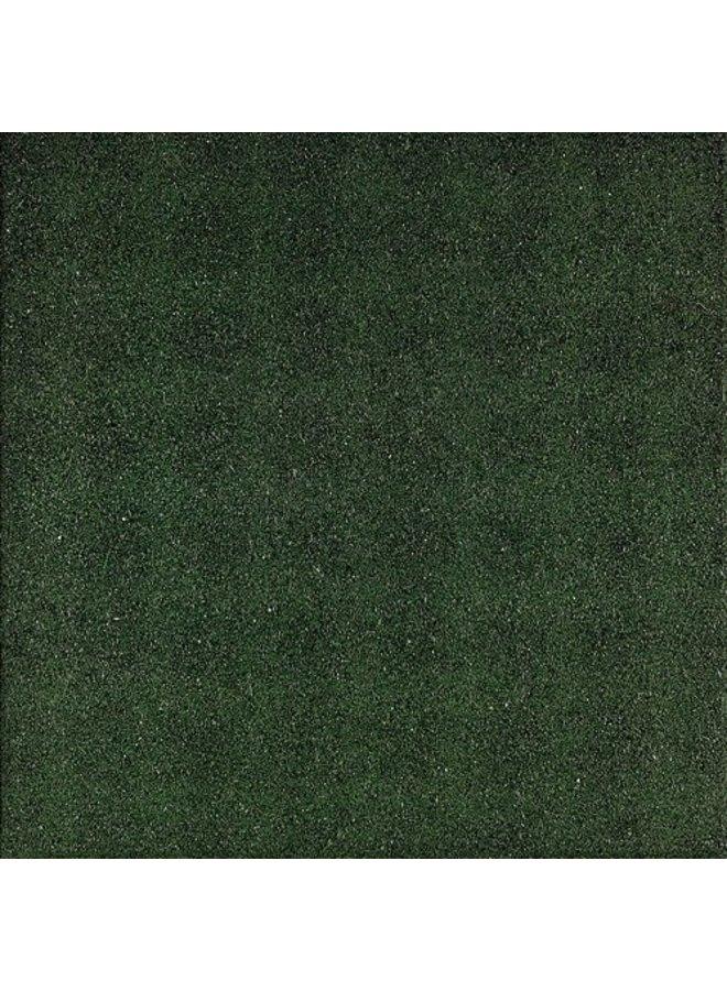 Rubbertegel Groen 50x50x2,5 cm