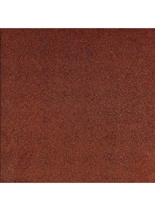 Rubbertegel Rood 50x50x2,5 cm (prijs per tegel)
