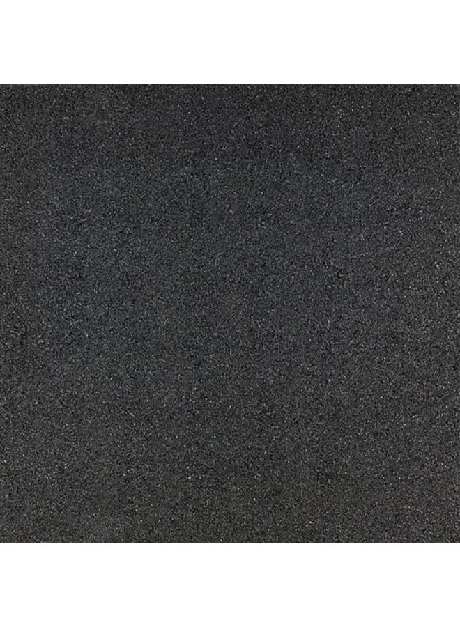 Rubbertegel Zwart 50x50x2,5 cm