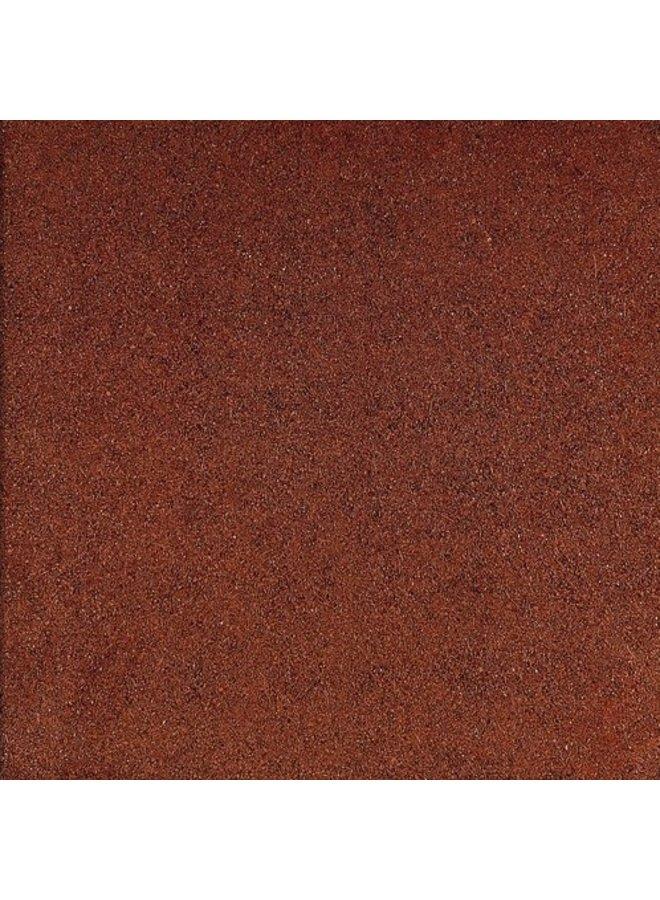 Rubbertegel Rood 50x50x3 cm