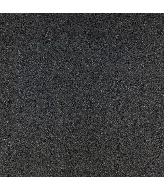 Gardenlux Rubbertegel Zwart 50x50x3 cm (prijs per tegel)