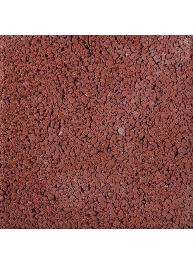 Pasblok Rood structuur 20x20x4,5 cm (prijs per m²)