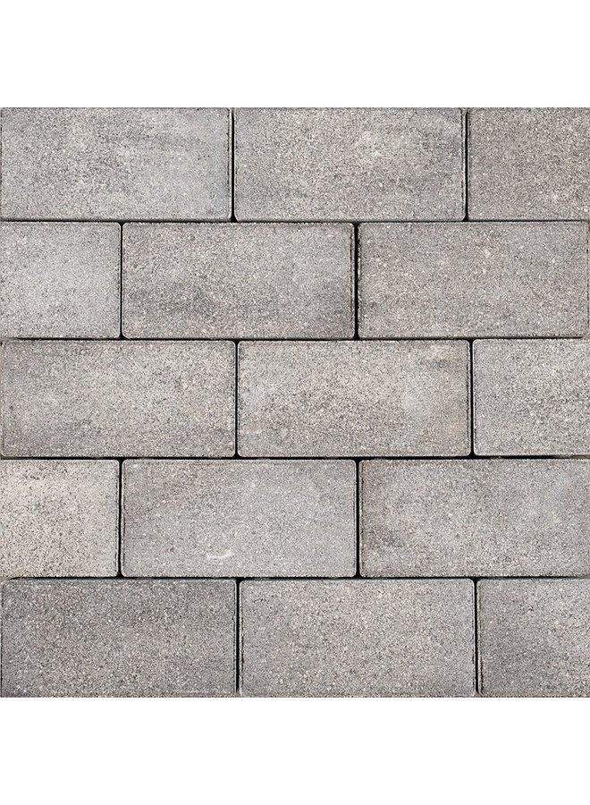 Sierbetonklinkers Keiformaat 10x20x6 cm Grijs/Zwart (prijs per m²)