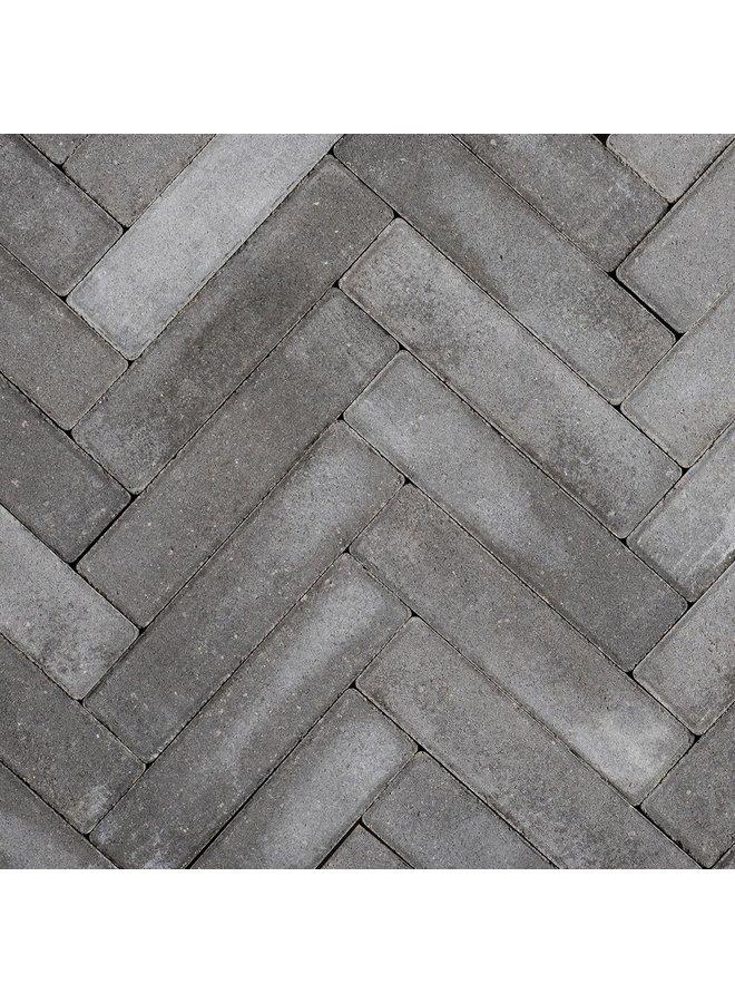 Sierbetonklinkers Waalformaat 5x20x6 cm Antraciet