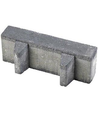 Gardenlux Waterpasserende Aqua Brick Zwart 40% open 10x30x8 cm
