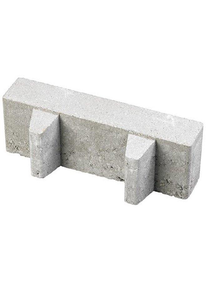Waterpasserende Aqua Brick Grijs 40% open 10x30x8 cm