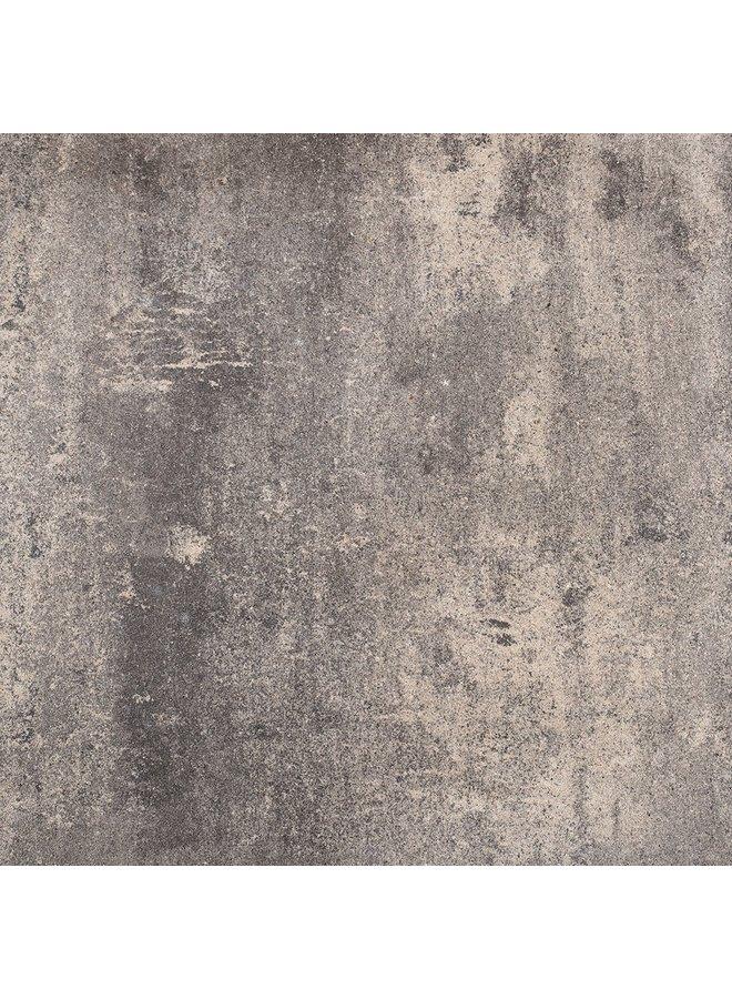 Piastrella Piatta Grigio Nero 60x60x4,7 cm