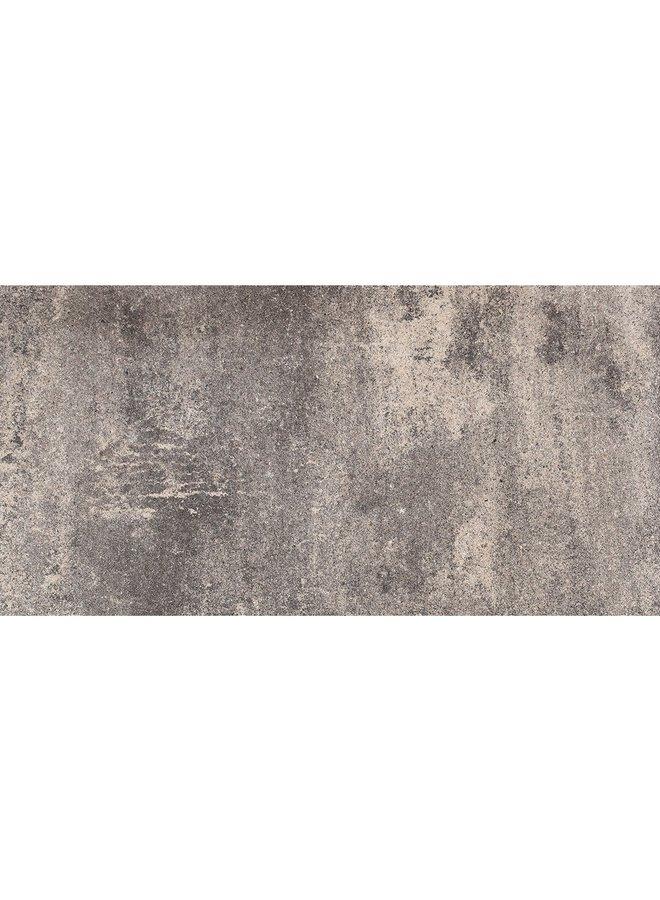 Piastrella Piatta Grigio Nero 30x60x4,7 cm