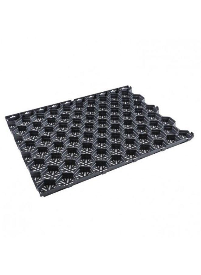 Gravel Lux 59,2x79x3 cm (prijs per m²)