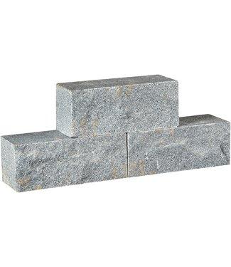 Gardenlux Muurelement Graniet Dark Grey 30x12x12 cm