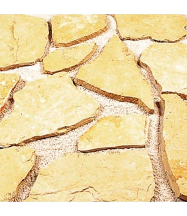Gardenlux Flagstones Bourgogne 3-5cm dik (prijs per m²)