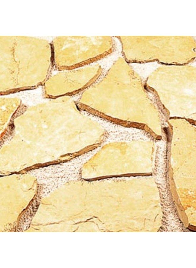 Flagstones Bourgogne 3-5cm dik (prijs per m²)