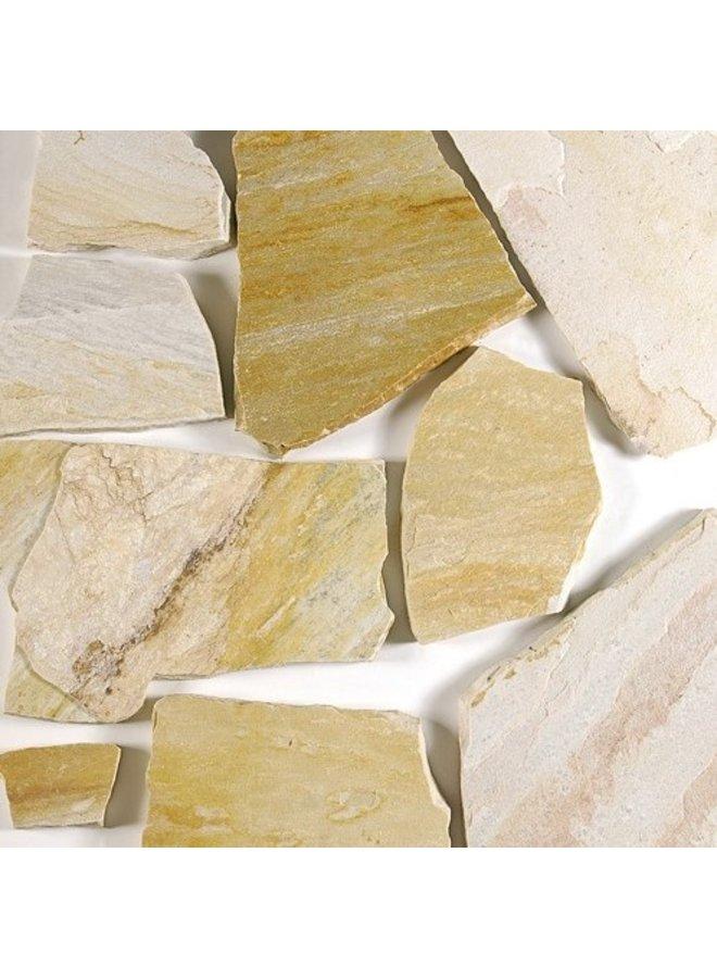 Flagstones Tropical Yellow 2,5-4cm dik (prijs per m²)