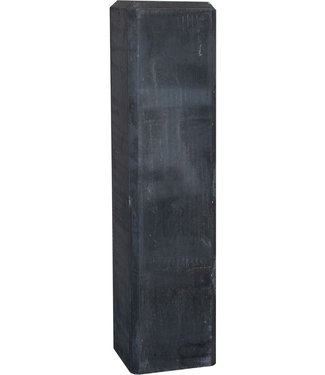 Gardenlux Betonpoer recht antraciet (verstelbare plaat) 15x15x60 cm