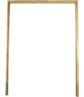 Gardenlux Hardhouten Deurkozijn met aanslagligger 210x90-150 cm