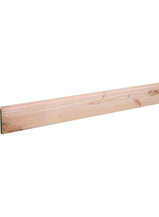 Douglas Dakbeschot Geschaafd/Onbehandeld (10,8cm werkend) 1,6x11,6x400 cm