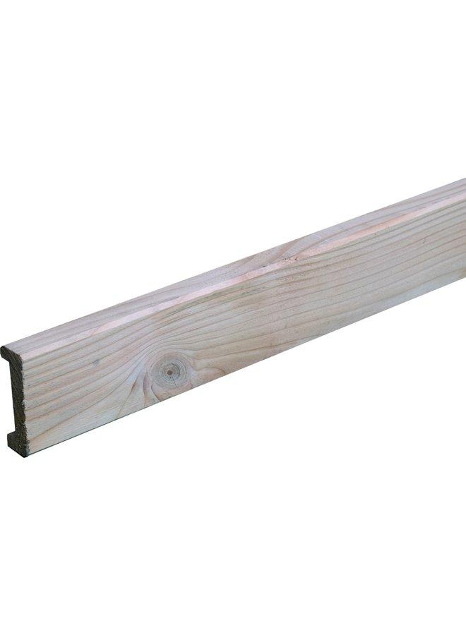 Douglas Afdeklat met sponning 2,8x8,5x180 cm