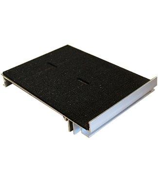 Randoplossing (voor tegeldragers) incl. rubberpad