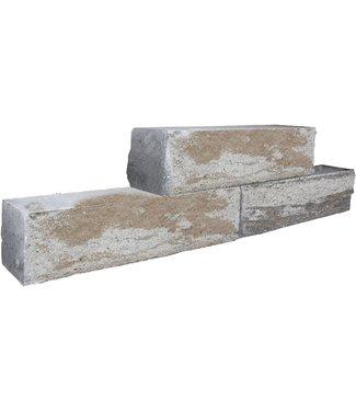 Rockstone Walling 12x15x60 cm Mosselkalk