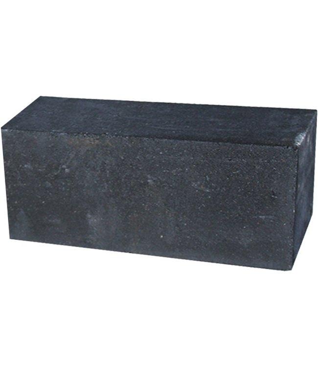 Palissadeblock 15x15x30 cm Zwart