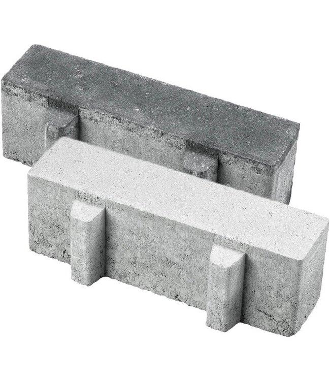 Aqua Brick 22% open 10x30x8 cm Grijs
