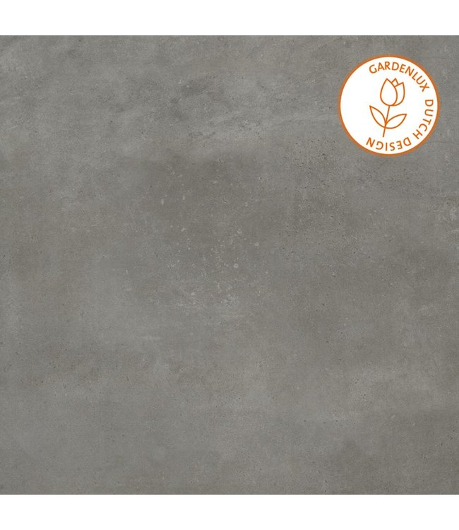 Cera3line Lux & Dutch 90x90x3 cm Bologna Dark Grey